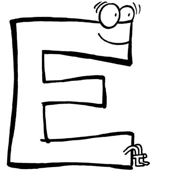 L'ABCdaire de maman : lettre E