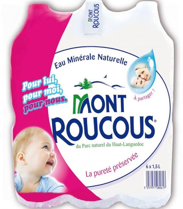 Coup de coeur grossesse : l'eau Mont Roucous