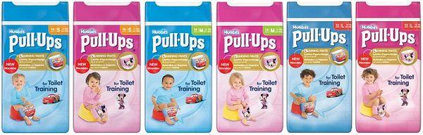 les Pull-Ups d'Huggies test et concours
