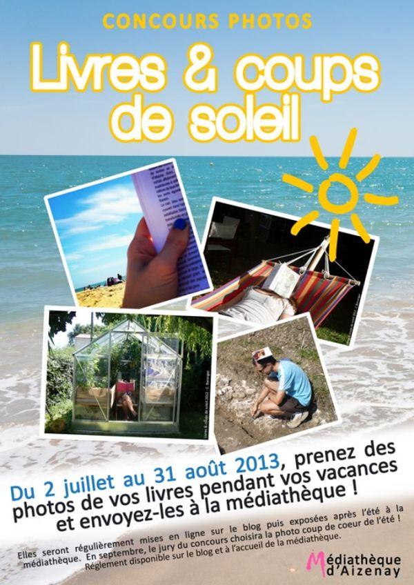 Concours photo Livres et Coups de Soleil
