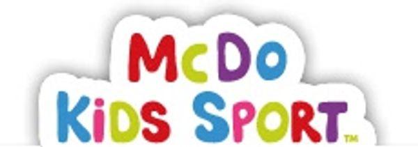 Mc Do kid's sport aussi dans le 93