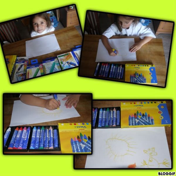 Des crayons pas comme les autres...concours avec Lyra/Giotto...30 pochettes à gagner :)