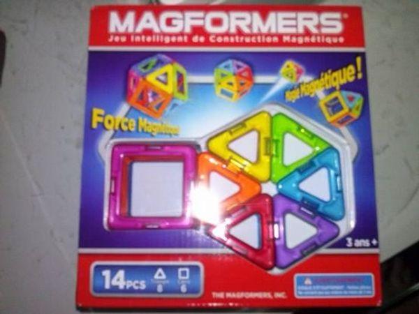 Le jeu MAGFORMERS testé par Petit Prince