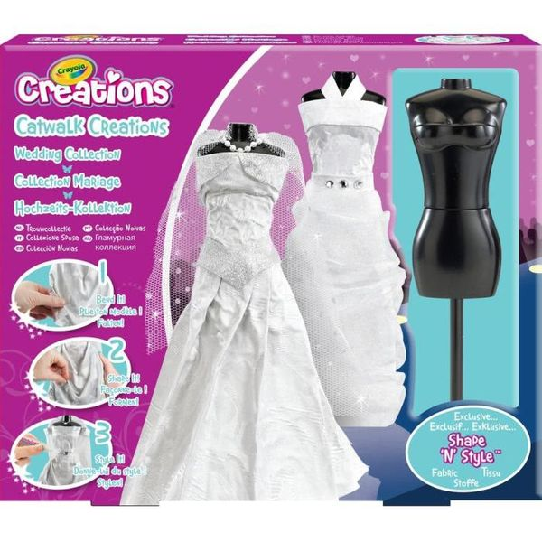 Qui sera la future créatrice de robe de mariée CRAYOLA??