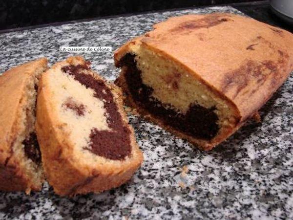La recette du marbré au chocolat, ma recette favorite, venez la découvrir !!