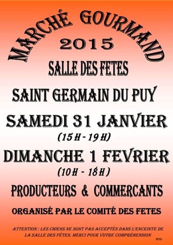 Marché gourmand à St Germain du Puy (18)