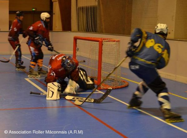 Un match de Roller Hockey N3 à Mâcon