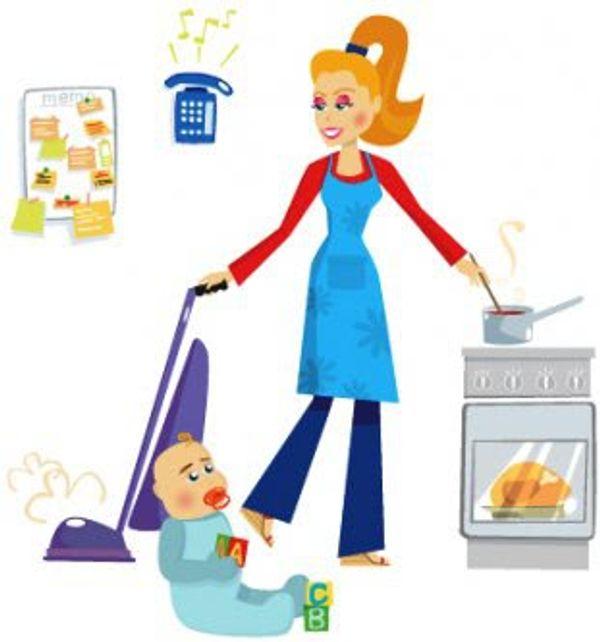 Débat :  mère au foyer