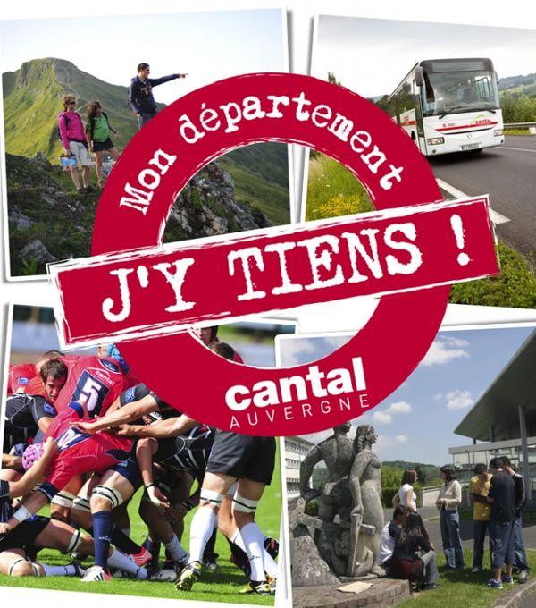Cantal, Mon département j'y tiens !