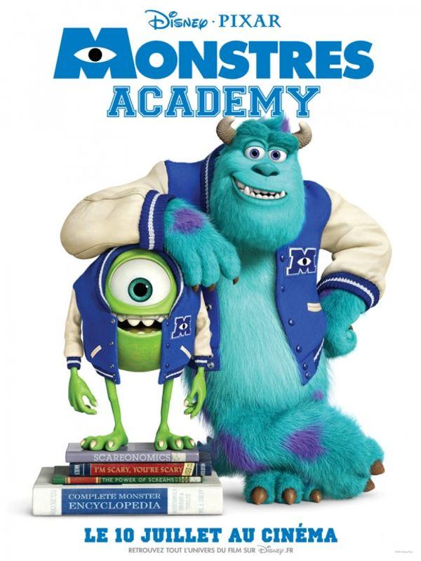 Avant premier Monstres Academy Tarif réduit pour Tous Mardi
