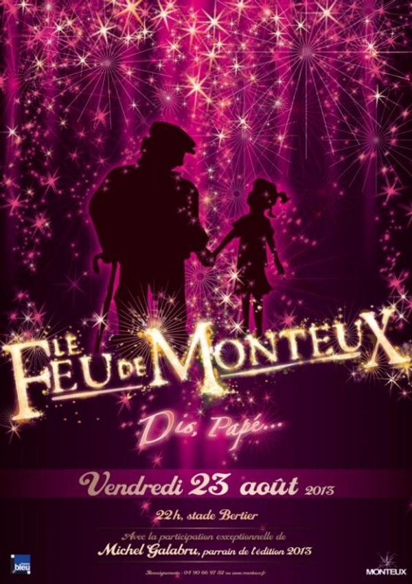 Feu de Monteux le 23 Août