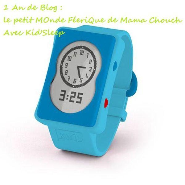 les  an du Blog le 1er Cadeau !!! Kid'Sleep