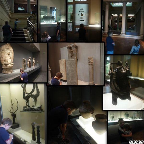 Le musée Cernuschi + le parc Monceau....de belles découvertes :)