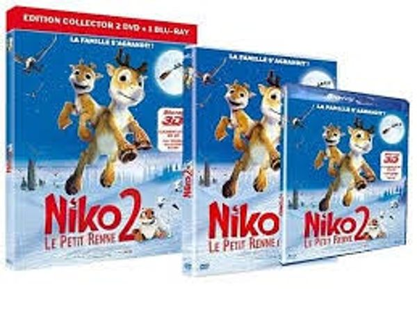 28 Mars: Sortie DVD de Niko le petit renne 2 + notre avis-test :)