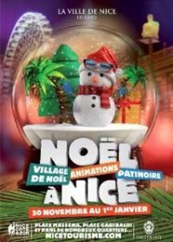 Le marché de Noël à Nice