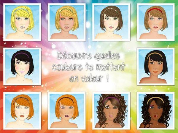 Découvre tes couleurs quel que soit ton type... Blonde, rousse, châtain, brune, black, métisse, asiatique, méditerranéenne, indienne, personne n'est oublié !