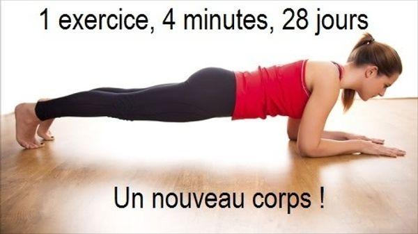 1 exercice, 4 minutes, 28 jours - un nouveau corps