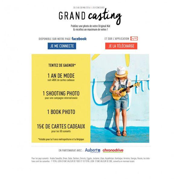 Grand casting 2016 Tape à l'oeil !!
