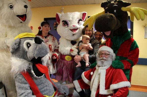 Offrir un Noël Magique à l'hôpital