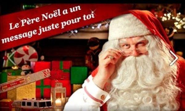Vidéo personnalisée et gratuite du Père Noël !!