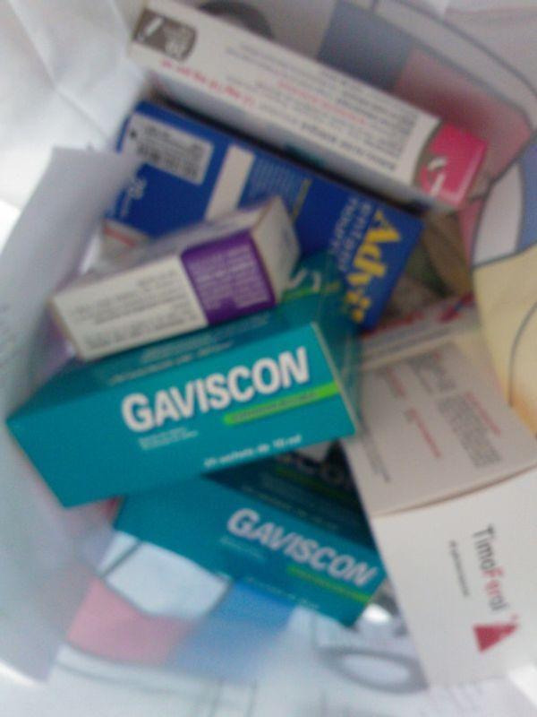 Quand je vais à la pharmacie ....