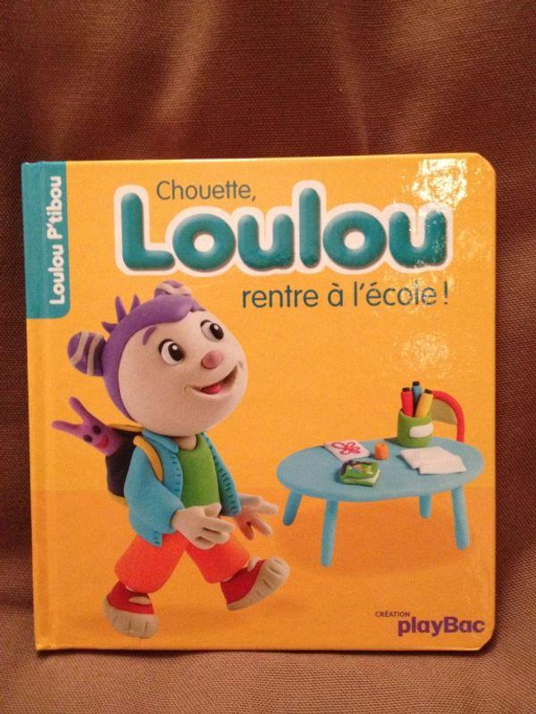Chouette Loulou rentre à l'école