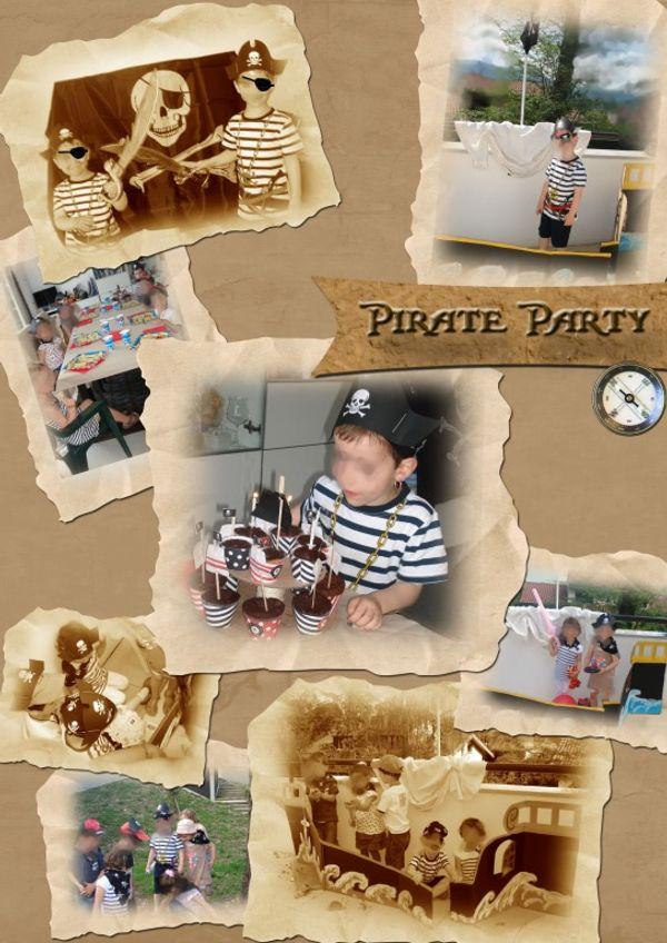 Pirate Party - à l'abordage des 4 ans !