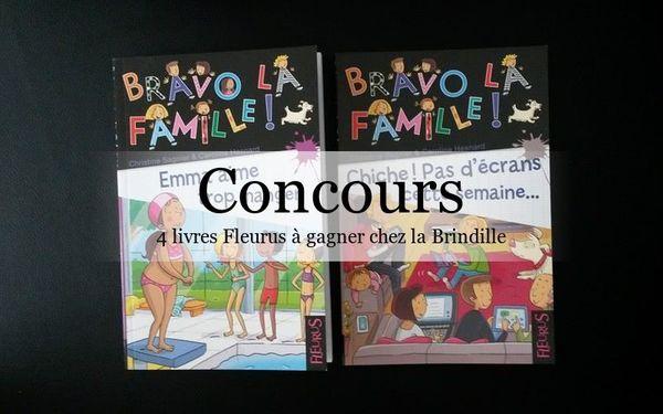 Bravo la famille - 4 livres Fleurus à gagner - Terminé