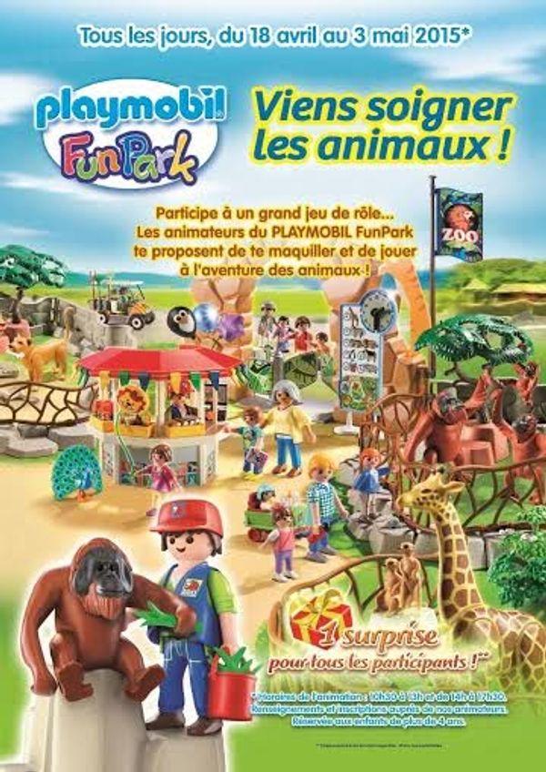 Viens soigner les animaux PLAYMOBIL !