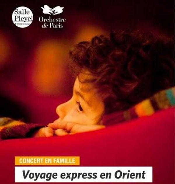 Voyage express en Orient...notre 1er concert classique en famille :)