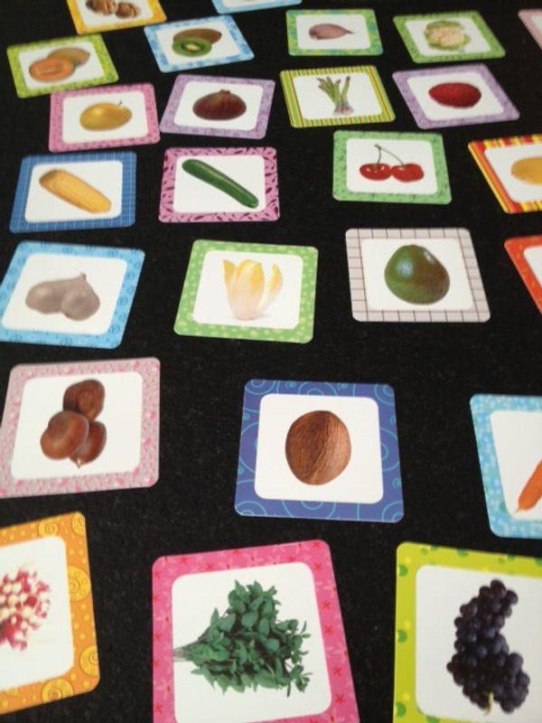 apprendre les fruits et les légumes à bébé