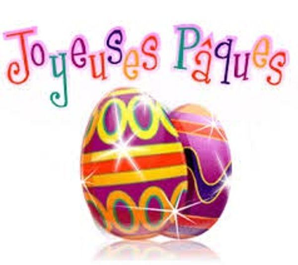 Activités de Pâques .... Non ce n'est pas trop tard lol