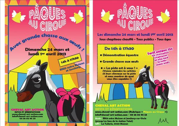 Pâque au cirque près de Reims.