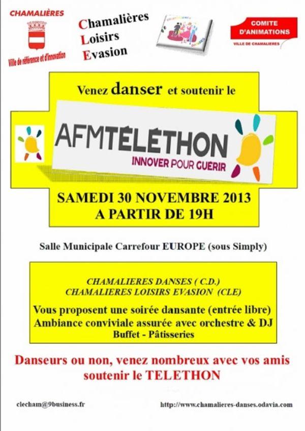 Téléthon : soirée dansante à Chamalières
