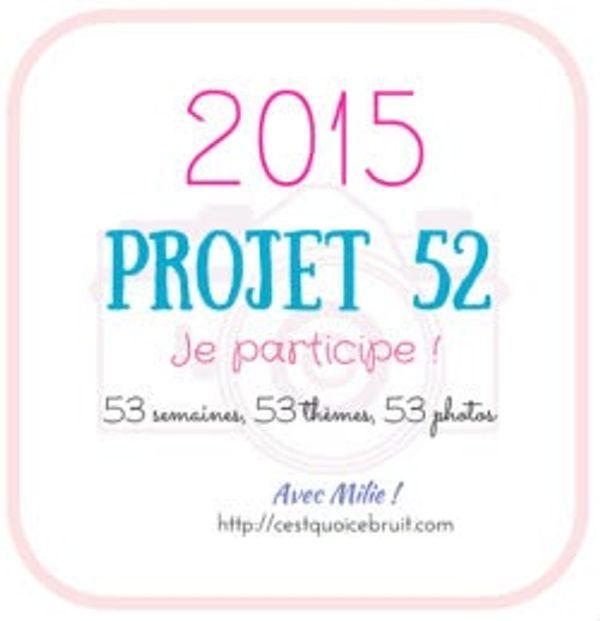 Projet 52 - 2015: Rentrée
