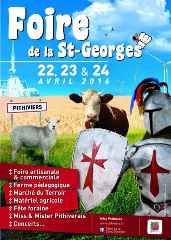 Foire de la St Georges à PITHIVIERS ce week end ...