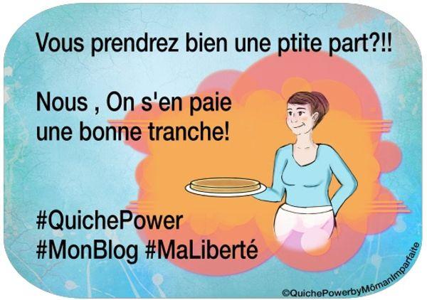 Chanson inavouable - défi #QuichePower n° 1