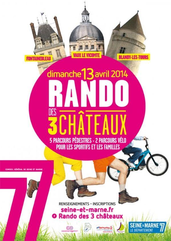 La rando des 3 Chateaux  13 avril 2014