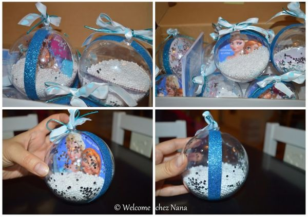 DIY - invitations anniversaire La Reine des Neiges / Frozen