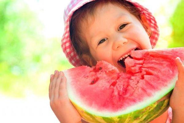 Les fruits et les enfants !!