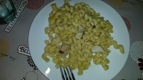 Un bon risotto de pâtes au poulet: facile et très bon !