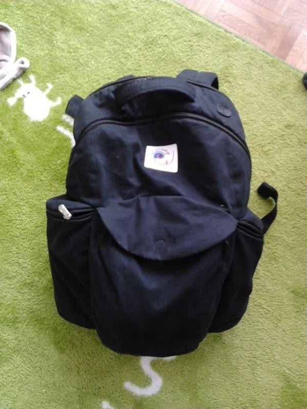 Ergo et moi - Maintenant, je coordonne aussi le sac à langer ...