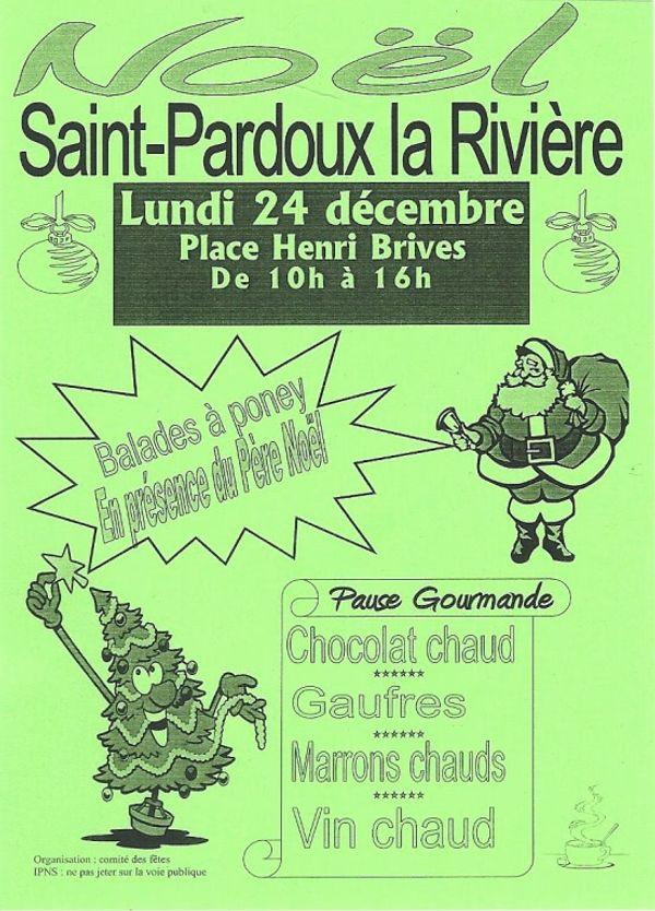 une jolie façon d'attendre Noël, lundi 24 décembre 2012 Saint Pardoux la Rivière