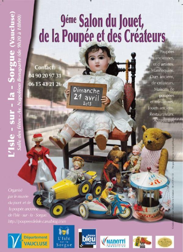 Salon du jouet, de la poupée et des créateurs