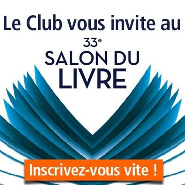 Place offerte 33ème Salon de Livre