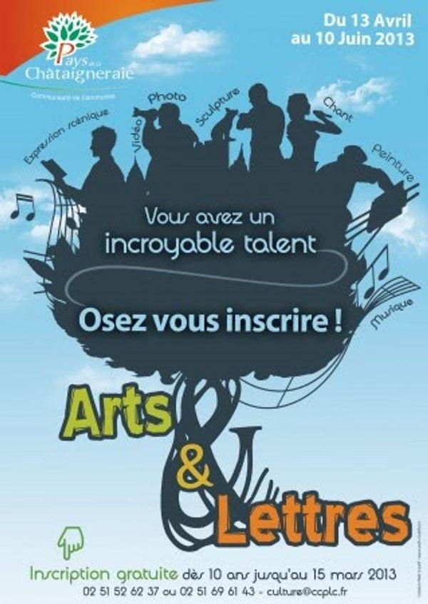 Arts & Lettres 2013 La Chataigneraie