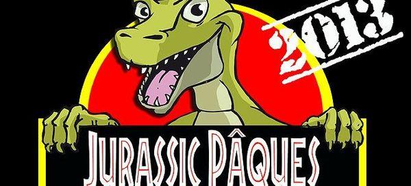 Chasse aux oeufs de dinosaures à Avrillé