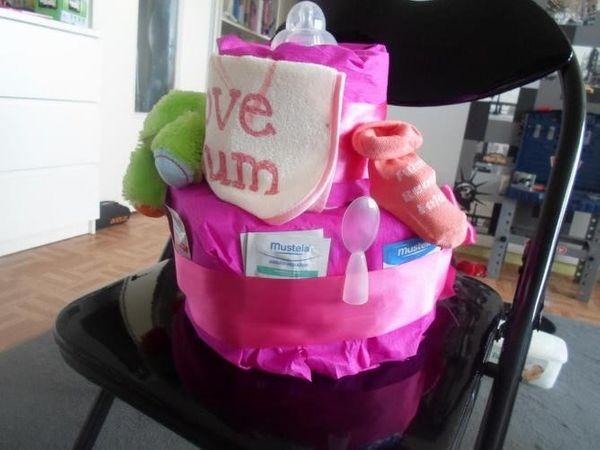 Un coup de coeur : créatrice de gâteaux de couches