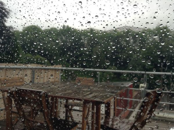 Vacances sous la pluie..