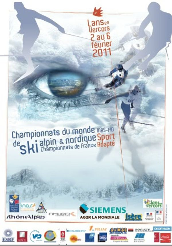 Championnat de France de ski sport adapté - Lans en Vercors